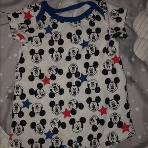 Baby boy Mickey Mouse romper
